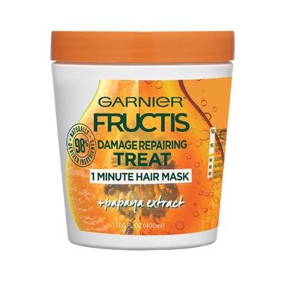 Garnier Fructis Style Damage Repairing Treat 1 Minute Hair Mask with Papaya Extract
