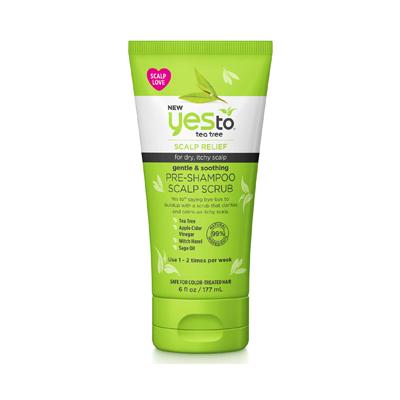 Yes To Tea Tree Gentle & Soothing Pre-Shampoo Scalp Scrub