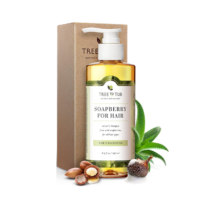 Tree to Tub Soapberry for Hair Ultra Gentle Shampoo