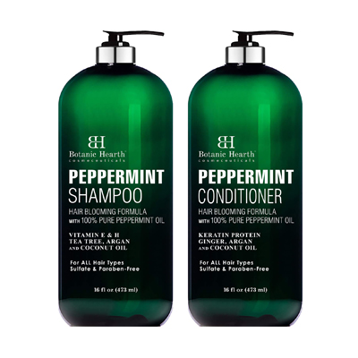Botanic Hearth Peppermint Oil Shampoo and Conditioner