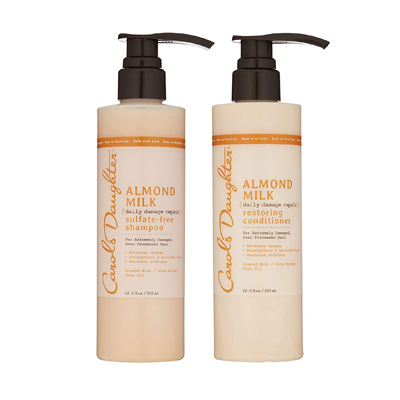 Carol's Daughter Almond Milk Daily Damage Repair Shampoo and Conditioner