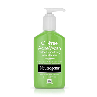 Neutrogena Oil-Free Acne Wash and Facial Cleanser