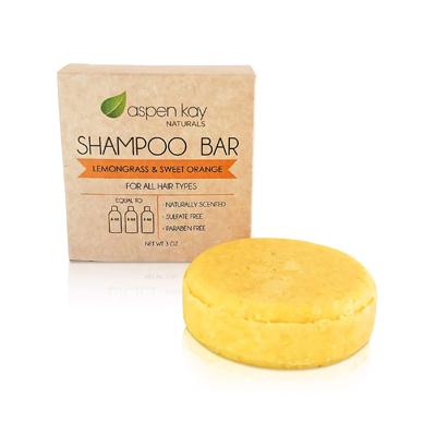 Aspen Kay Naturals Lemongrass and Sweet Orange Solid Shampoo Bar