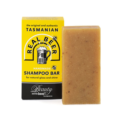 Beauty and the Bees Real Beer Shampoo Bar