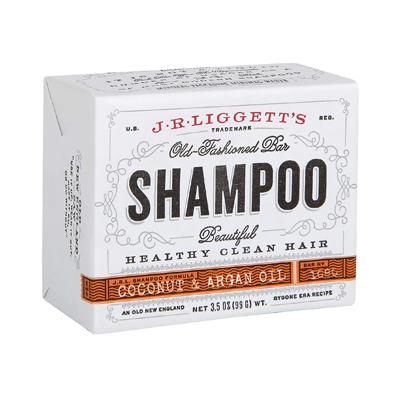 J R LIGGETT'S Coconut & Argan Oil All-Natural Shampoo Bar