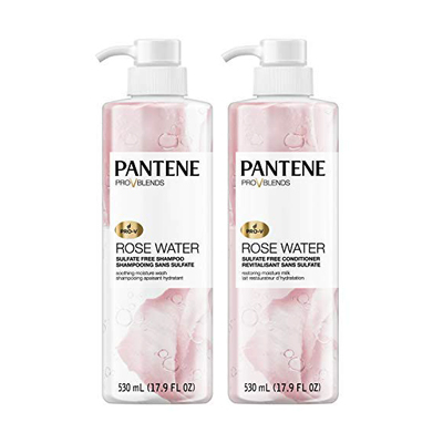Pantene Pro-V Rose Water Shampoo and Conditioner Kit