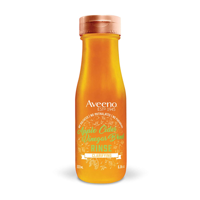 Aveeno Clarifying Apple Cider Vinegar In-Shower Hair Rinse
