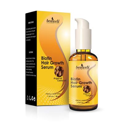 Beaueli Cosmetics Biotin Hair Growth Serum
