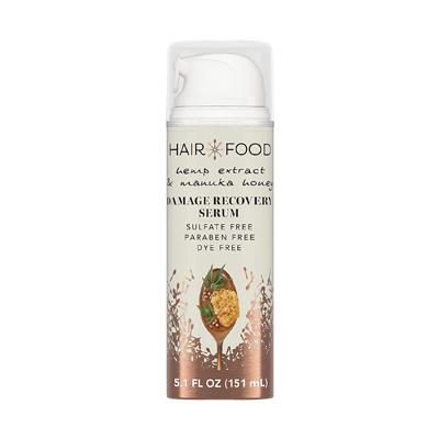 Hair Food Hemp Extract & Manuka Honey Damage Recovery Serum