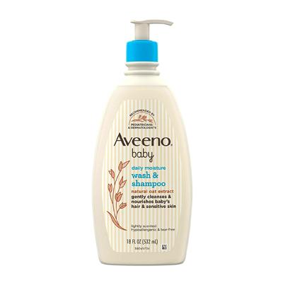 Aveeno Baby Daily Moisture Gentle Bath Wash & Shampoo