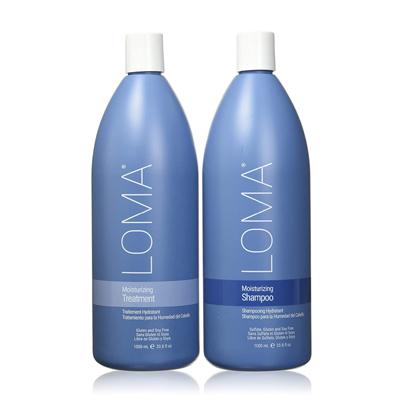 Loma Hair Care Moisturizing Shampoo & Treatment Duo