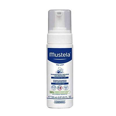 Mustela Cradle Cap Foam Shampoo for Newborn