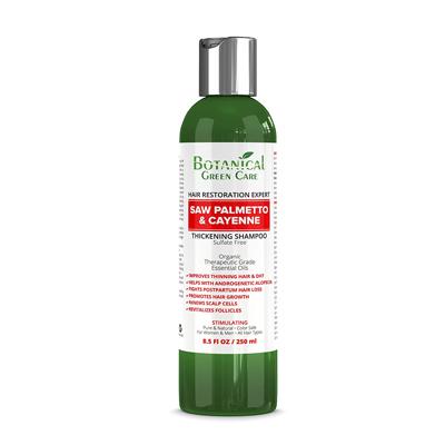 Botanical Green Care Hair Restoration Expert Saw Palmetto & Cayenne Thickening Shampoo