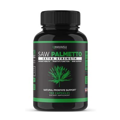 Havasu Nutrition Saw Palmetto Extra Strength Supplement