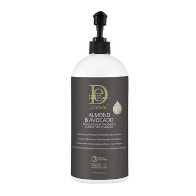 Design Essentials Almond & Avocado Moisturizing & Detangling Sulfate Free Shampoo & Conditioner